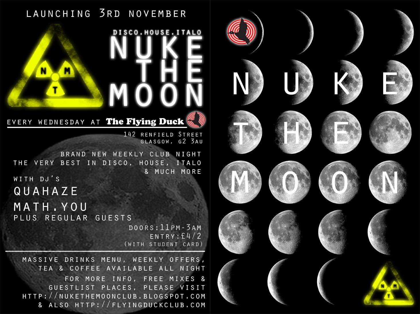 nuke the moon essay