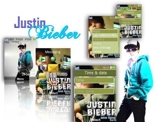 Justin Bieber Theme for Sony Ericsson Themes