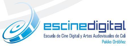 Escuela de Cine Digital y Arte Digital de Cali Pakiko Ordoñez.