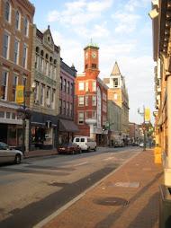 Downtown Staunton.