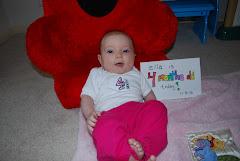 Ella at 4 Months
