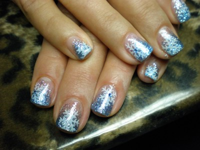 Lovely chrismas nails