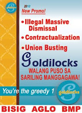 Ibalik ang mga Manggagawang Tinanggal sa Goldilocks!