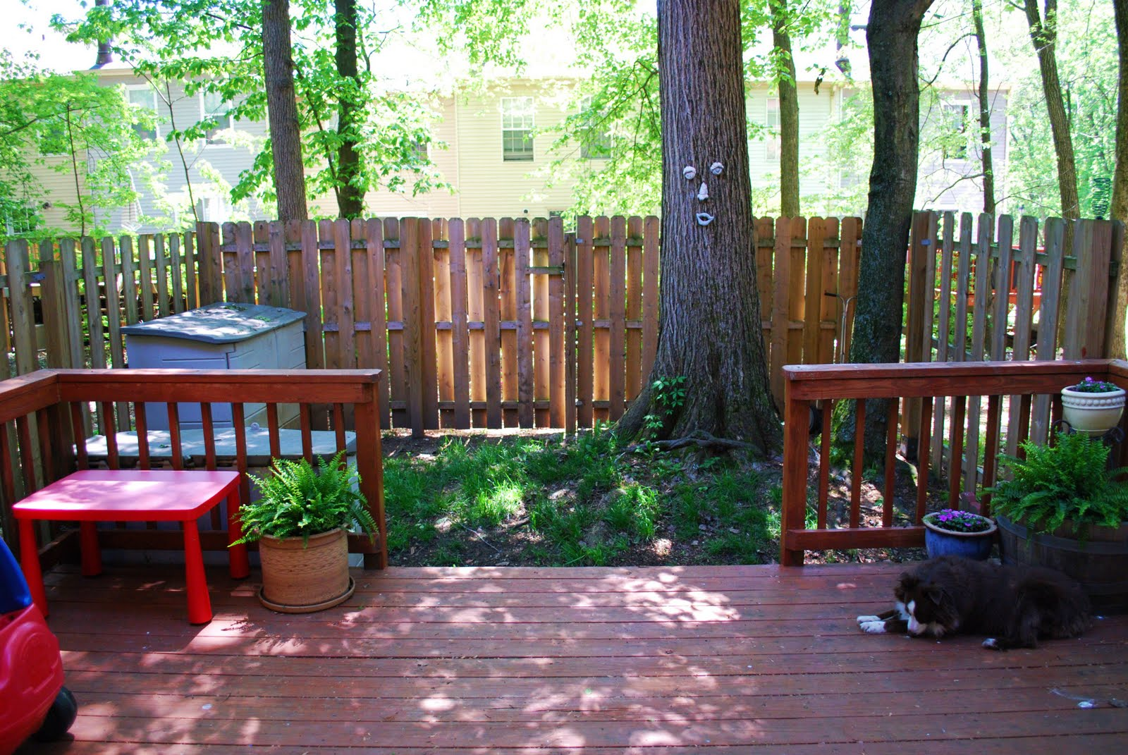 Elkridge Townhouse Backyard