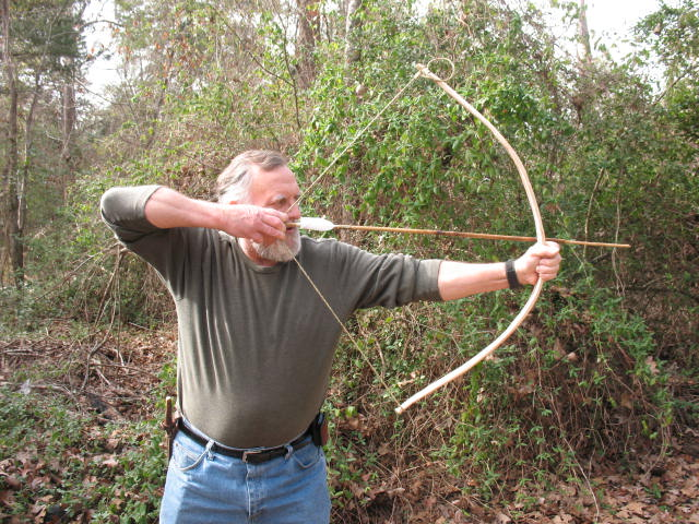 The Quickie Greenwood Survival Bow