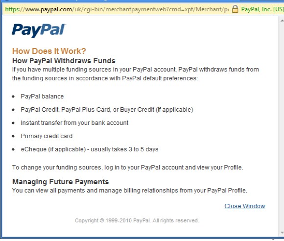 How to cancel paypal pending money