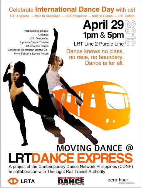 International Dance Day: LRT Dance Express