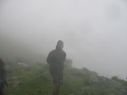 Myself in the low visibility - 2008