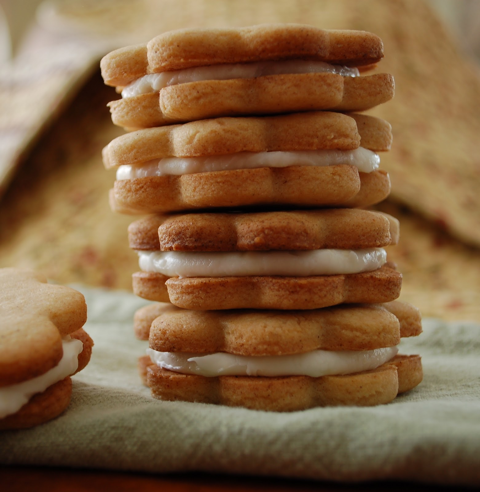 Ginger-Spice Sandwich Cookies With Lemon Cream Recipes — Dishmaps