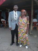 Pastor Mwenebolongo and his wife Mochako