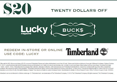 timberland online coupons
