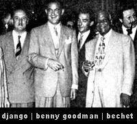 sidney bechet & django & benny goodman