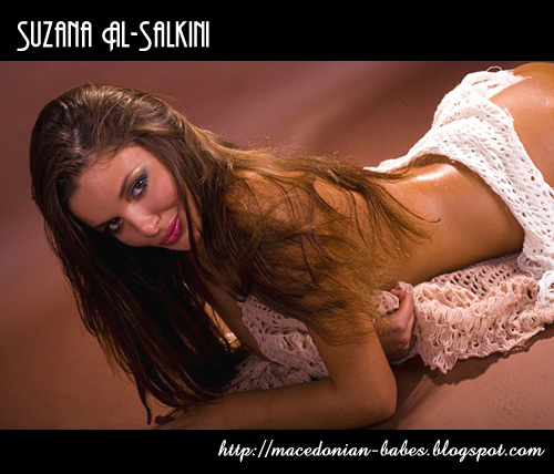 Suzana Al-Salkini: Miss Macedonia 2008 for Miss World