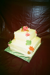 Autumn Tiered Cake