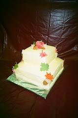 Autumn Tiered Cake