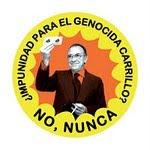 NO A LA IMPUNIDAD DE UN GENOCIDA
