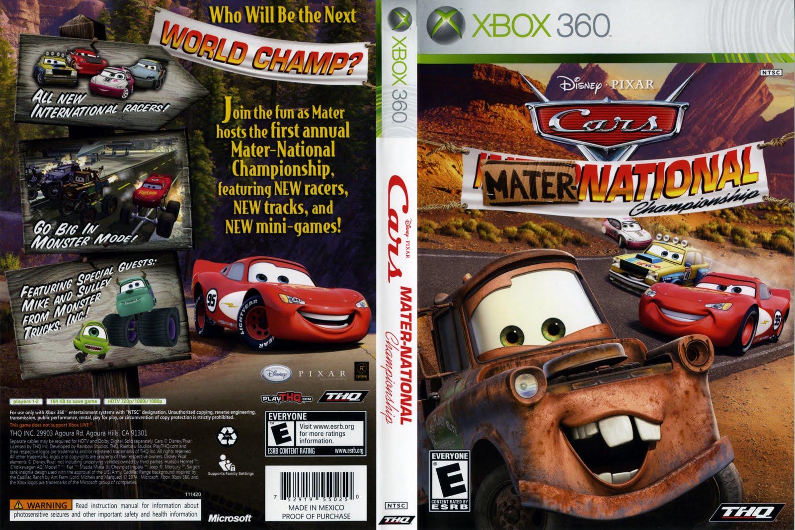 Cars Race O Rama Ps Controls