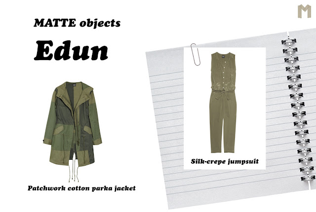 MATTE objects: Edun