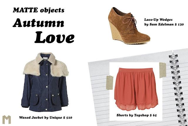 MATTE objects: Autumn Love