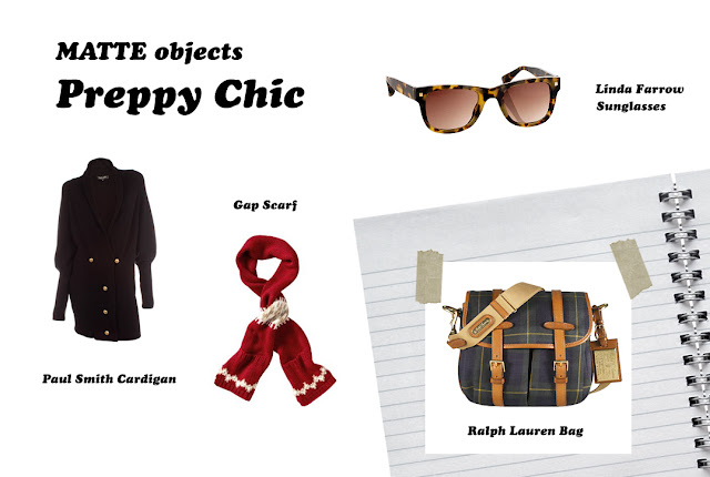 MATTE objects: Preppy Chic