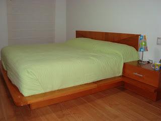 Recamaras de madera king size for Recamaras de madera modernas king