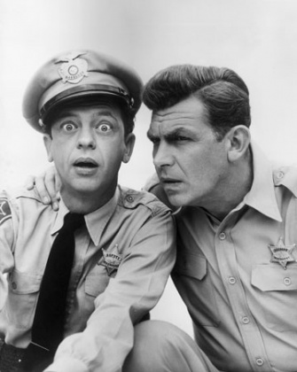 andy griffith barney fife in heaven