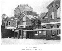 The Courtyard, Royal Observatory Greenwich, from E. Walter Maunder, 'The Royal Observatory Greenwich: a Glimpse at its History and Work' (1900).