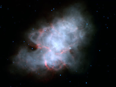 The Crab Nebula: the shattered remenants of a massive star after a super nova explosion. Image Credit: NASA/JPL-Caltech/R. Gehrz (University of Minnesota) on NASA website.