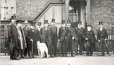 The Board of Visitors in 1896 © NMM