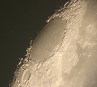 Moon (Mare Crisium) taken with the 28-inch telescope by Tony Sizer, February 2005