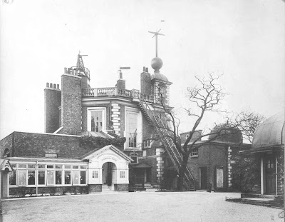 Flamsteed House, Royal Observatory, Greenwich in 1908 © NMM.