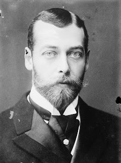 The uke of York in 1893: the future King George V.