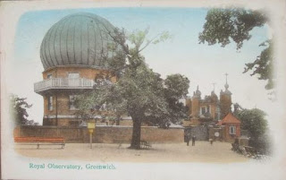 Postcard of Royal Observatory, Greenwich, c.1906.