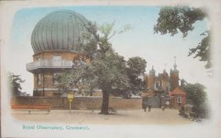 Postcard of Royal Observatory, Greenwich, c.1906.