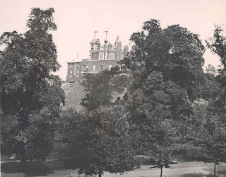 Flamseted House, Royal Observatory, Greenwich, from the west after 1910 © NMM