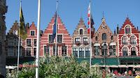 Брюгге, центральная площадь, Бельгия