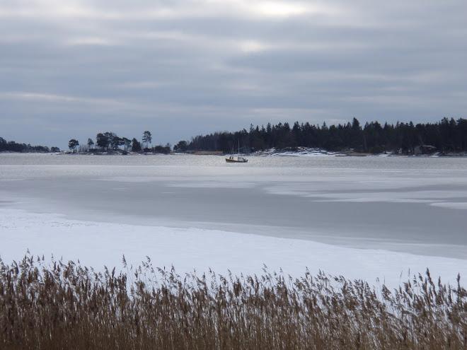 Utsikt från Jogersö 2009-02-17