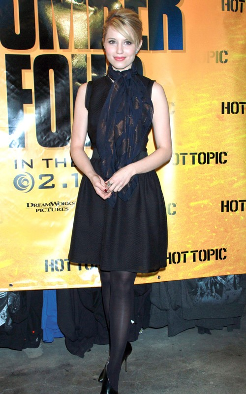 dianna agron hot pics. Dianna Agron#39;s Hot Topic Look