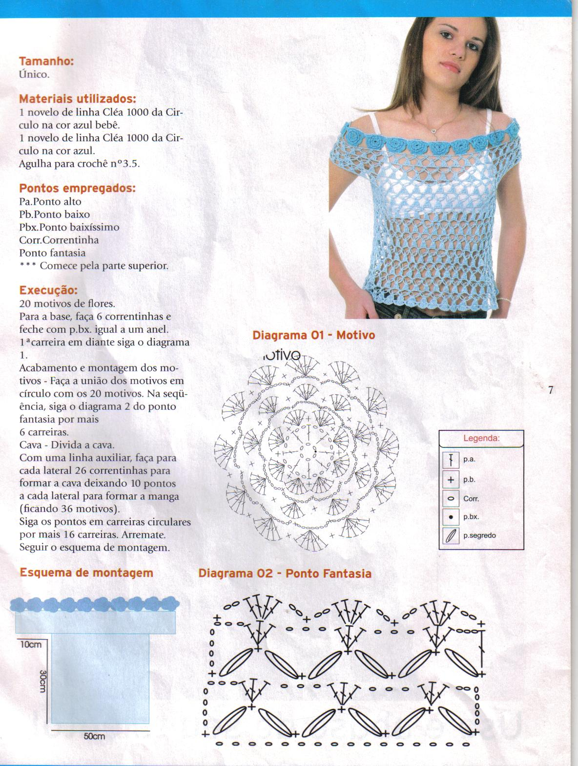 Related Pictures Images Of Blusas Tejidas En Crochet Tejidos A ...