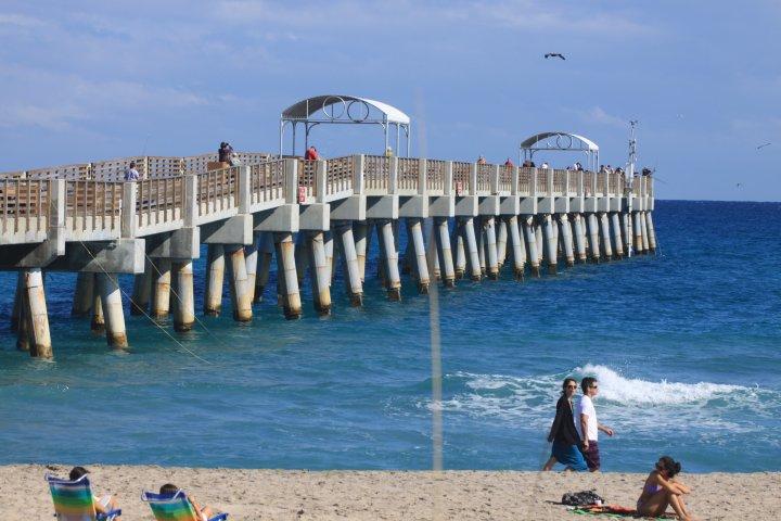 Bauerpowerphotographs florida december 2010 for Lake worth pier fishing