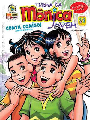 TMJ10 Download Turma da Mônica Jovem   Edição n. 10
