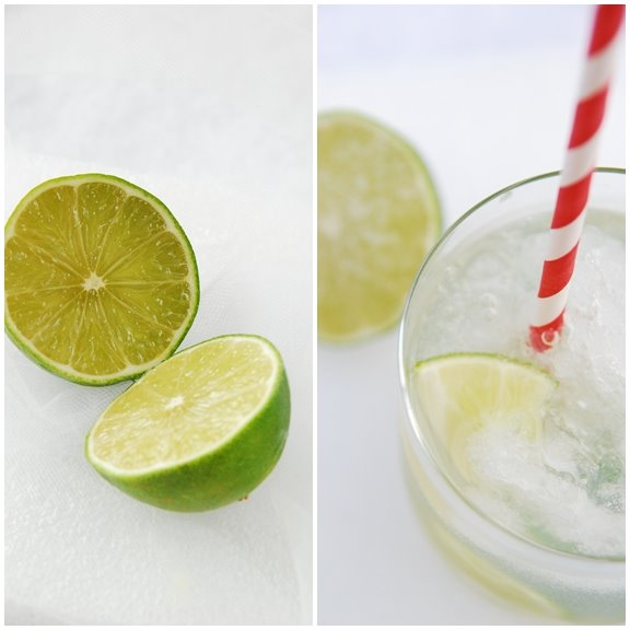 Lime Caipirinha