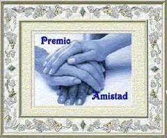 Premio Amistad otorgado por Mariana Alvez Guerra - Lee Tamargo
