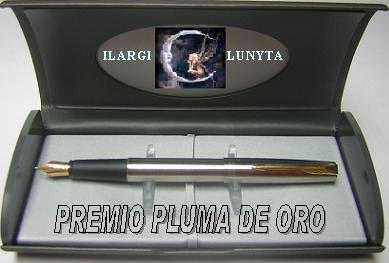 """PREMIO """"PLUMA DE ORO"""""""