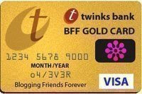 BFF Gold Card from Hershey & Kaci and Kirby