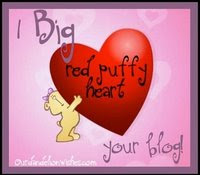 Puffy Heart Award from Mango and Deefor