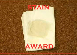 Huskee's STAIN AWARD from Joey