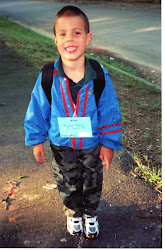 Weston's first day of school