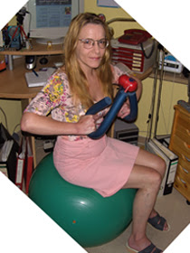 Physical Fitness Exercises at the PC, Swiss Ball, Impander