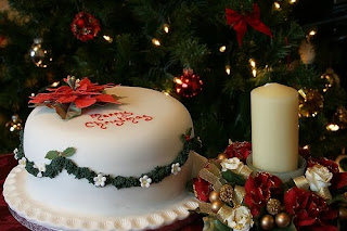 Christmas decorated cakes and candles with beautiful designs free Christmas hd(hq) wallpaper and Christian images download